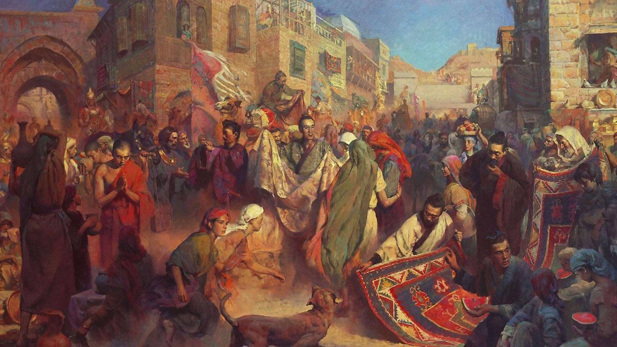 Jejak Pedagang Nusantara di Asia Tengah pada Masa Kuno (Bagian2)
