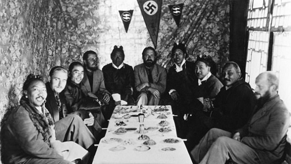 Sejarah Ekspedisi Arkeologis Nazi Jerman keTibet
